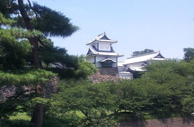 金沢城の石川門