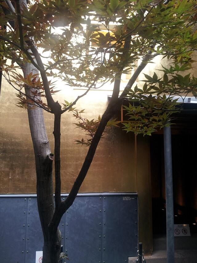 金沢ひがし茶屋街の金の蔵の外観
