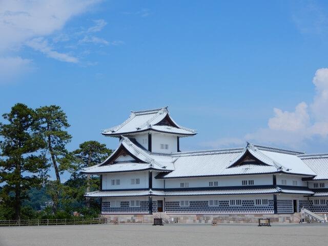 金沢城公園の菱櫓