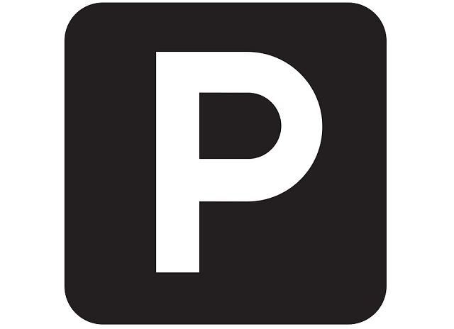 駐車場のPのマーク