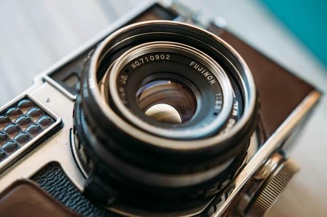 カメラのアップ